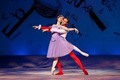 The Australian Ballet'sAko Kondo and Ty King-Wall in Christopher Wheeldon's Alice's Adventures in Wonderland©. Photography Jeff Busby