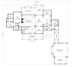 Looking for the best house plans? Check out the Cedar River Farmhouse plan from Southern Living. Farmhouse Layout, Southern Farmhouse, Country Farmhouse Decor, Farmhouse Plans, Farmhouse Design, Farmhouse Style, Modern Farmhouse Floor Plans, Southern Homes, Country Homes