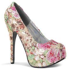 rebelsmarket_bordello_teeze06_pink_multi_floral_fabric_platform_pump_heels_2.jpg
