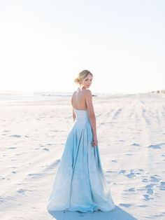 Ice Blue Winter Wedding Inspiration via Magnolia Rouge