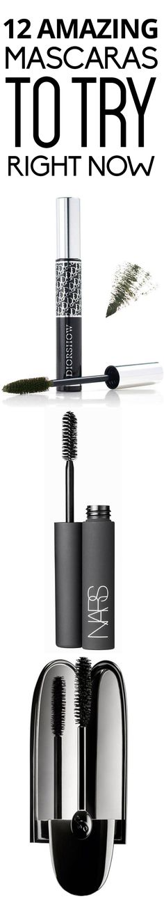 12 amazing mascaras to try right now.