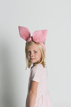 Pig ears twisty headwrap