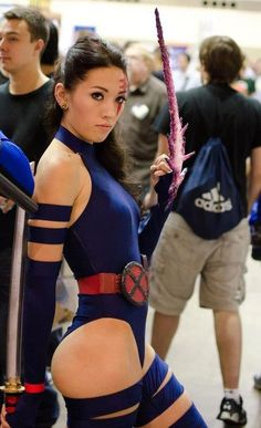 Psylocke - X-Men #cosplay. Seems like no one remembers Psylocke. She was awesome