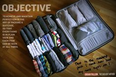 How To Pack Like A Rock Star » The NERDIEST way to pack your suitcase