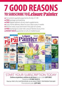Issuu is a digital publishing platform that makes it simple to publish magazines, catalogs, newspapers, books, and more online. Easily share your publications and get them in front of Issuu's millions of monthly readers. Title: Leisure Painter May 2018, Author: Sally Bulgin, Name: lp_may18_merged_cropped, Length: undefined pages, Page: 8, Published: 2018-03-16