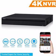 Original English 4K H.265 16CH 32CH NVR 1U 16ch PoE NVR5216-16P-4KS2 NVR5232-16P-4KS2 Network Video Recorder up to 12MP #Affiliate