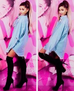 Imagem de ariana grande and beautiful