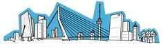 Ontwerpwedstrijd Rotterdamse Skyline. Ga voor meer info naar: http://www.rotterdamfestivals.nl/publiek/uitgelicht/skyline/  - Rotterdam Festivals