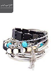 BEAD BANGLE PACK Bangles, Bracelets, Fashion Styles, Style Me, Beads, Jewelry, Bangle Bracelets, Bangle Bracelets, O Beads