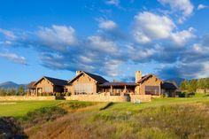 Picturesque rural farmhouse in Montana