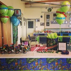 1st Birthday Ninja Turtle theme