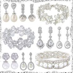 A cornucopia of stunning chandelier earrings and beautiful cuff bracelets. Day 3 on my wedding inspired advent calender. The theme today is Baubles and Bangles. Cuff Bracelets, Bangles, Advent Calenders, Wedding Earrings, Chandelier Earrings, Wedding Inspiration, Inspired, Silver, Beautiful