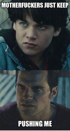 Superman funny meme