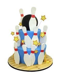 Bowling Party Cake Decorating Kit