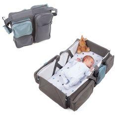 DELTA BABY Reisetasche und Babybett - Baby Travel anthrazit | baby-markt.de - 46,99 €