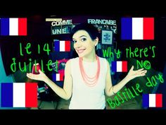 You know what day it is TODAY? It's Bastille Day! Well… You THINK it's Bastille Day. Because in France, it's just « le 14 juillet Ap French, Learn French, Core French, French Stuff, French Teacher, Teaching French, High School French, French Education, Bastille Day