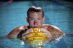 high school senior, swimmer, water polo