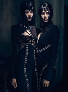 Irina, Kayley, Esther, Magdalena, Tess, Kat & Irene by Paolo Roversi for Vogue Italia September 2013 15