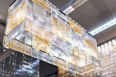 Стеклянные панели Fabbian