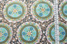 Designerstoffe USA - Amy Butler CAMEO angelica zinc - ein Designerstück von kleinkariert-stoffversand bei DaWanda