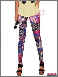 Cheap Women Printing Leggings LML0054 Cheap Price Drop Shipping Free Shipping