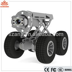 Robust Robotic Sewer inspection robot,boiler tank lateral sewer drain pipe…