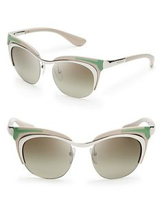 Prada Runway Cat Eye Sunglasses Jewelry   Accessories - Sunglasses - All  Sunglasses - Bloomingdale s 42f4ed79519b