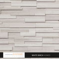 Birch Collection Veneer, Birch Collection Thin Stone Veneer, Birch Collection Veneers from Realstone Systems