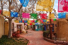 Secret Passageway At Old Town Albuquerque II - New Mexico Photograph by Silvio Ligutti