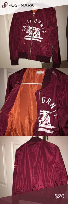 Papaya Bomber Brand new. Sits in my closet on the hanger. Cute. Papaya Jackets & Coats