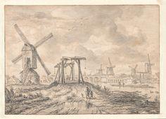 Gezicht op de Hogesluis langs de Amstel, Amsterdam, Jacob van Ruisdael, ca. 1663 John and Marine van Vlissingen Art Foundation
