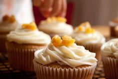 Butternut squash and cinnamon cupcakes...YUM!