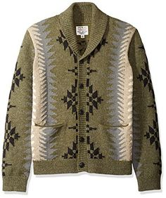 """Product review for Lucky Brand Men's Northwestern Heritage Shawl Sweater.  Lucky Brand men's long sleeve fashion shawl cardigan sweater with contrast stitch detail       Famous Words of Inspiration...""""Men talk of finding God, but no wonder it is difficult; He is hidden in that darkest hiding-place, your heart. You yourself are a part of..."""