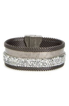 Cynthia Desser Genuine Snakeskin Cuff available at #Nordstrom