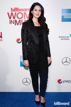 Lana Del Rey at Billboard's Women in Music event in NYC #LDR