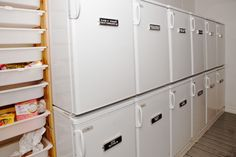 We have ample space to store your food during your stay at CBP.