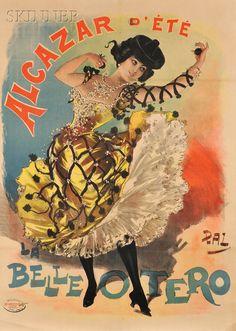 Jean de Paléologue, called Pal (American, 1855-1942)      Advertising Poster: Alcazar d'Été, La Belle Otero