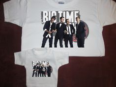 """Big Time Rush T-shirt with Matching Shirt For American Doll Teddy Bear Fits 18"""""""""""