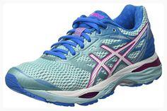 Gel-Nimbus 19, Chaussures de Running Femme, Bleu (Diva Blue/Flash Coral/Aqua Splash), 36 EUAsics