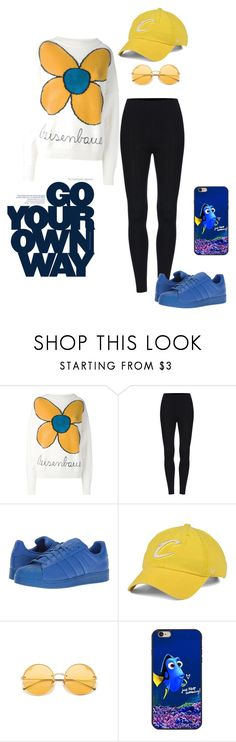 """Untitled #3761"" by sweetyincago ❤ liked on Polyvore featuring Christopher Kane, adidas Originals, '47 Brand and Disney Pixar Finding Dory"