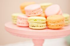 Most popular tags for this image include: food, cute, macarons, pink and macaroons