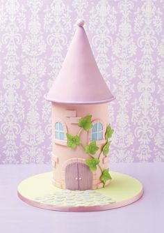 I wonder who lives inside this sweet little... - The Cake Parlour