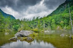 Kamikochi is a remote mountainous highland in the western portion of Nagano Prefecture, Japan. Kamikochi, Japan. | #stockphotos  #gettyimages #print #travels