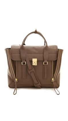 3.1 Phillip Lim Pashli Satchel - I've pinned this bag and other 3.1 Phillip Lim bags. Love his designs!