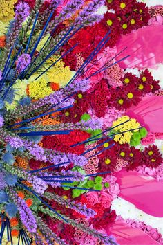 5baeb53af53 Florist Simon Lycett and his team created a design for the entrance to the  Floral Design Marquee at the RHS Chelsea Flower .
