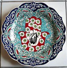 P1070072 Ceramic Plates, Decorative Plates, Tile Art, Tiles, Hobbies And Crafts, Ceramics, Vintage, Tableware, Kaftan