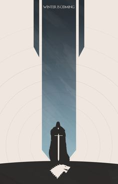 Game of Thrones, Stark Banner Created by Colin Morella