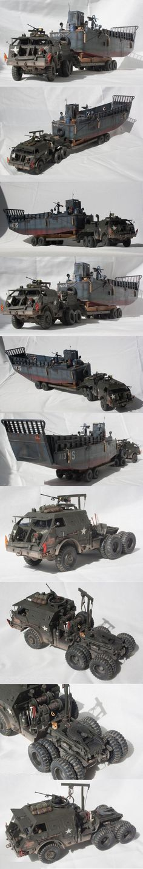 Dragon Wagon with landing craft