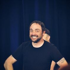 Mark Sheppard is so cute when he smiles!