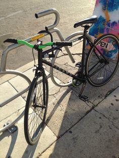 VilanoFixie Vilano Fixie FixiedGear Fixed 52cm blackNgreen FixieForLife FFL Bikes Cycles Origin8 SingleSpeed Cali CA NorthPark new GasSaver